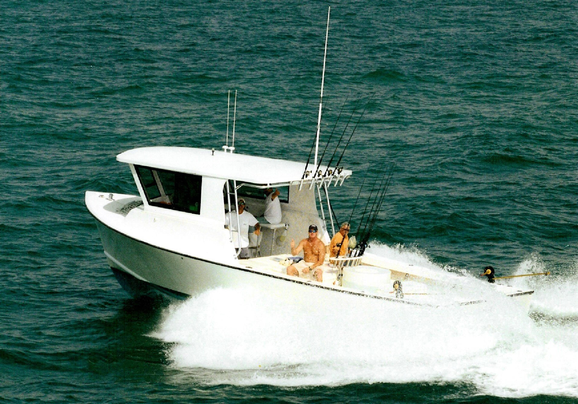 Deep sea fishing boat for Off shore fishing boats
